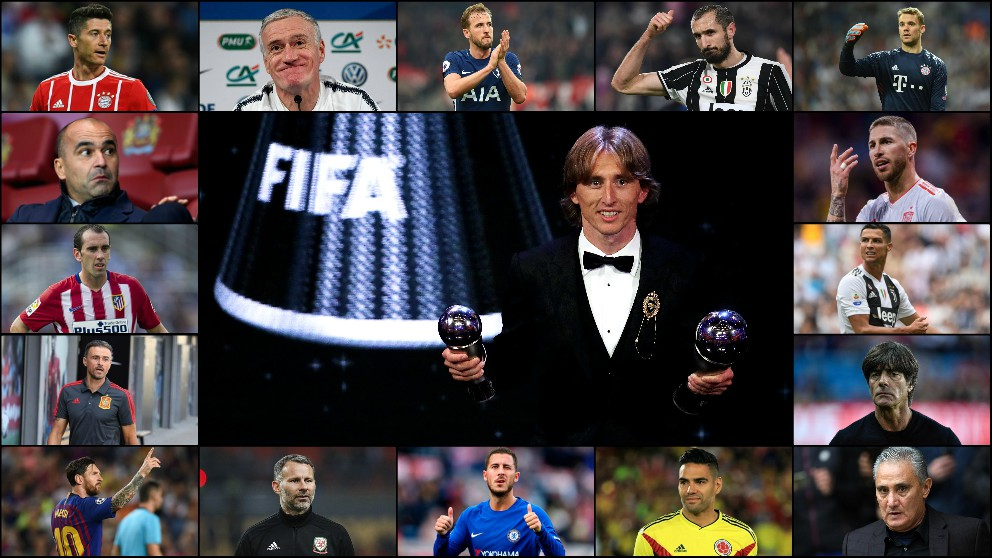 ¿Quién votó a quién en los premios The Best?