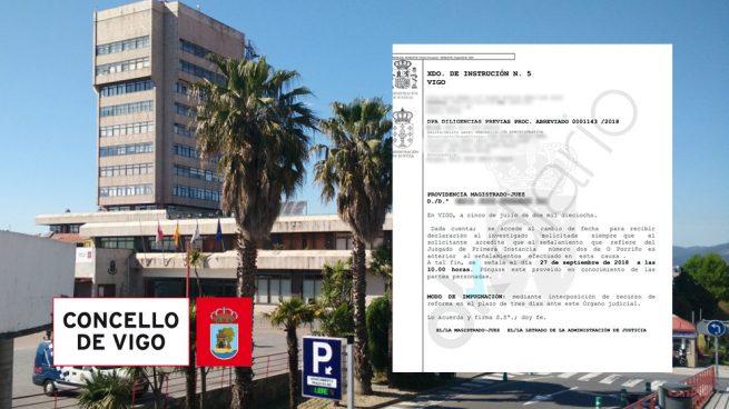 El secretario del Ayuntamiento de Vigo investigado por la iluminación navideña de 2016