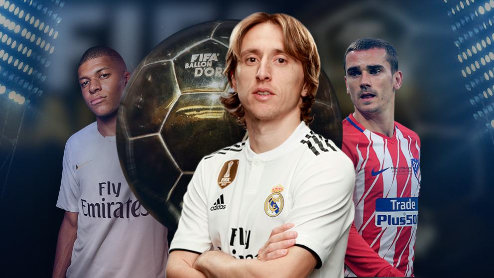 Modric ya sabe que las principales amenazas para su Balón de Oro son Griezmann y Mbappé.