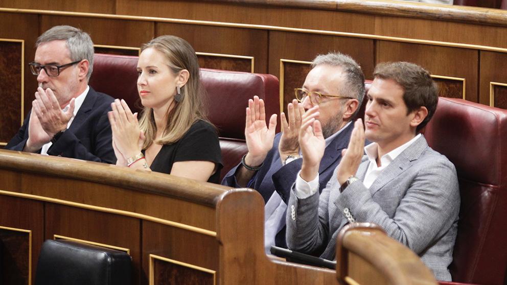Albert Rivera en el Congreso de los Diputados. (Foto: Francisco Toledo)