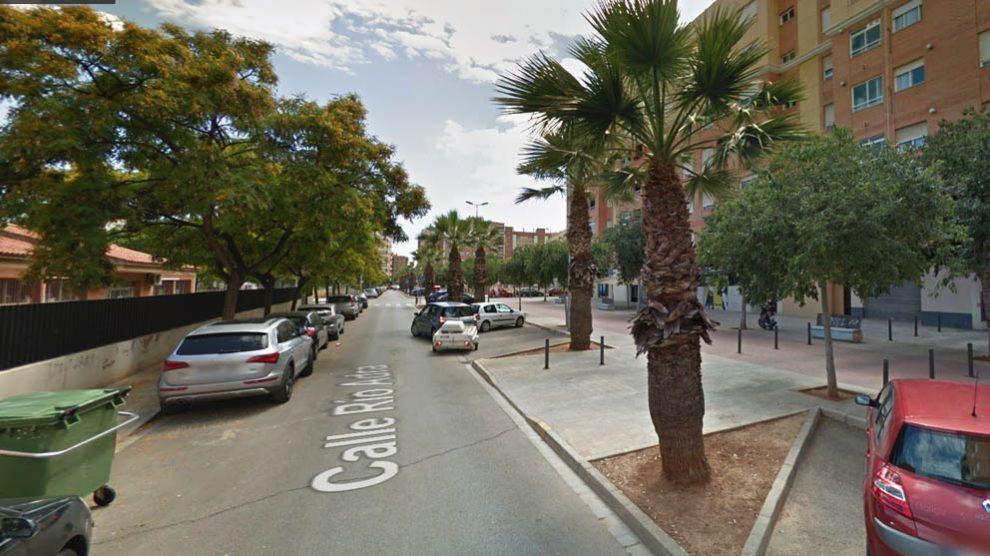 Lugar del doble asesinato en Castellón.