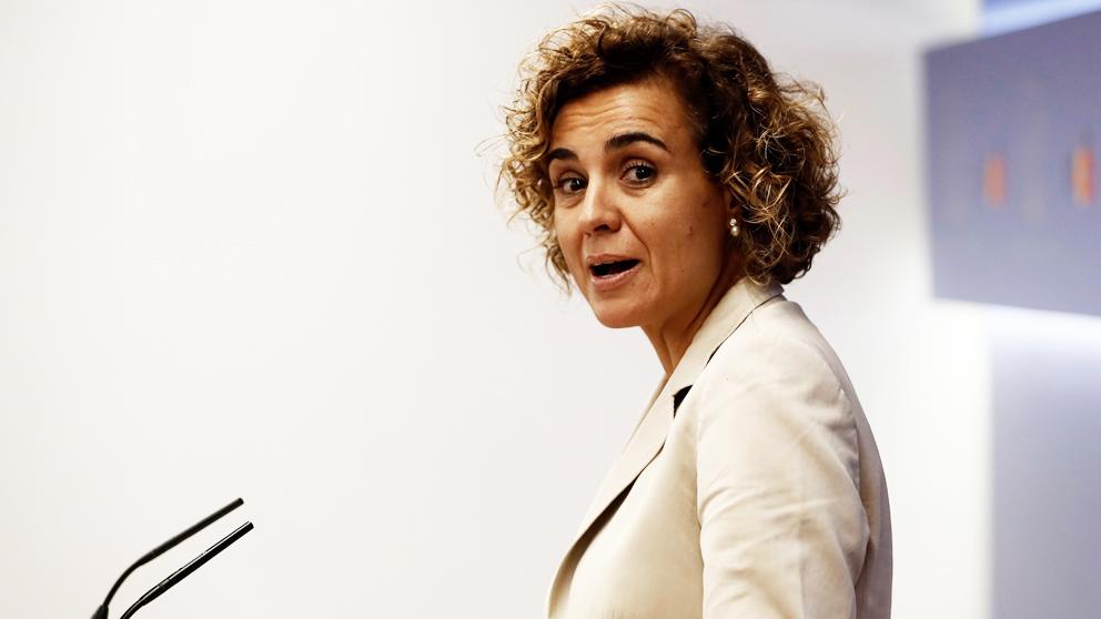 Dolors Montserrat, portavoz del Grupo Popular en el Congreso de los Diputados. (Foto: EFE)