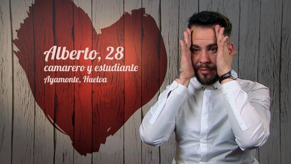 Alberto no pudo salir acompañado de 'First Dates'