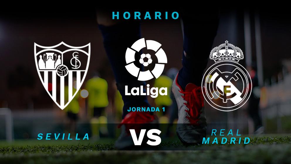 Sevilla real madrid hora y d nde ver en directo el for Real madrid sevilla hoy