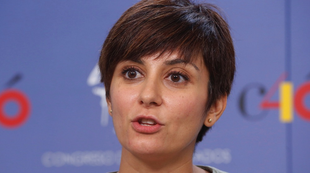 Isabel Rodríguez, diputada socialista. (Foto. PSOE)