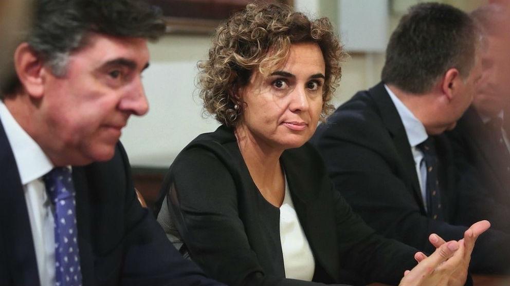 La portavoz del PP en el Congreso, Dolors Montserrat. (Foto: EP)