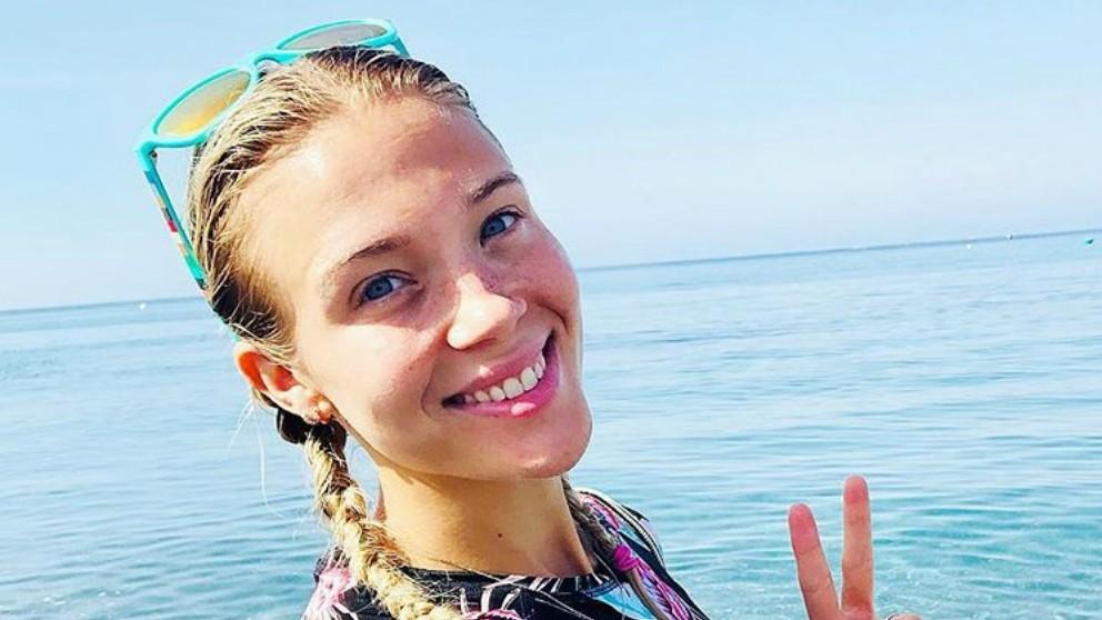 Patricia Montero criticada por su manera de practicar yoga