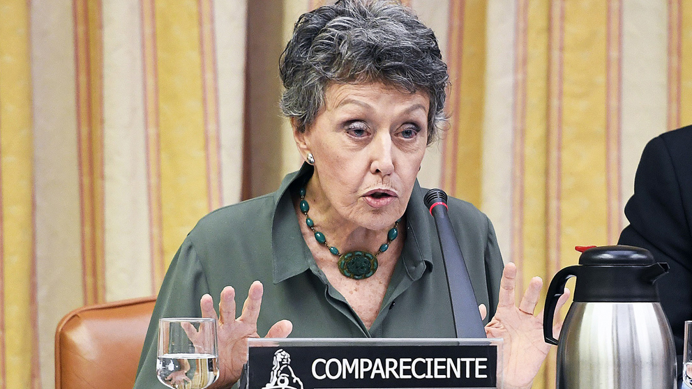 Rosa María Mateo, administradora única temporal de RTVE. (Foto: EFE)