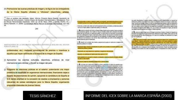 Los cinco plagios más descarados en la tesis de Sánchez que reveló OKDIARIO