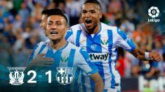 El Leganés ha propinado al Barcelona un golpe inesperado.