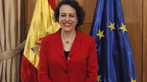 Magdalena Valerio, ministra de Empleo en funciones