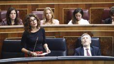 La ministra de Hacienda, Maria Jesus Montero