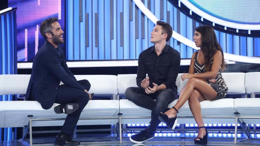 Damion se ha sorprendido por la historia de Tony Aguilar en 'OT 2018'