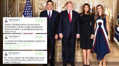 Los tuits que le recuerdan a Sánchez tras sacarse la foto con Trump