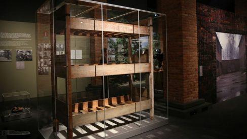 Exposición sobre Auschwitz en Madrid