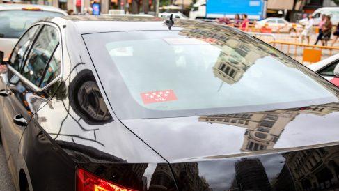 Vehículo de Uber