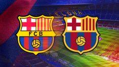 El Barça ha presentado una propuesta para cambiar su escudo.