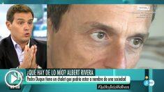 Albert Rivera en 'El programa de Ana Rosa'. | Reacciones Pedro Duque