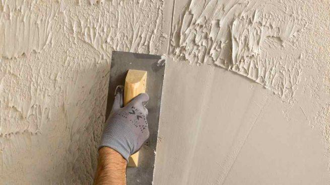 C mo alisar paredes con gotel de manera correcta paso a paso - Como alisar paredes ...