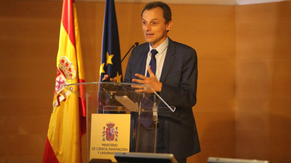 Pedro Duque, ministro de Ciencia, Innovación y Universidades (Foto: Europa Press)