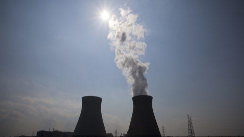 Imagen de una central nuclear.