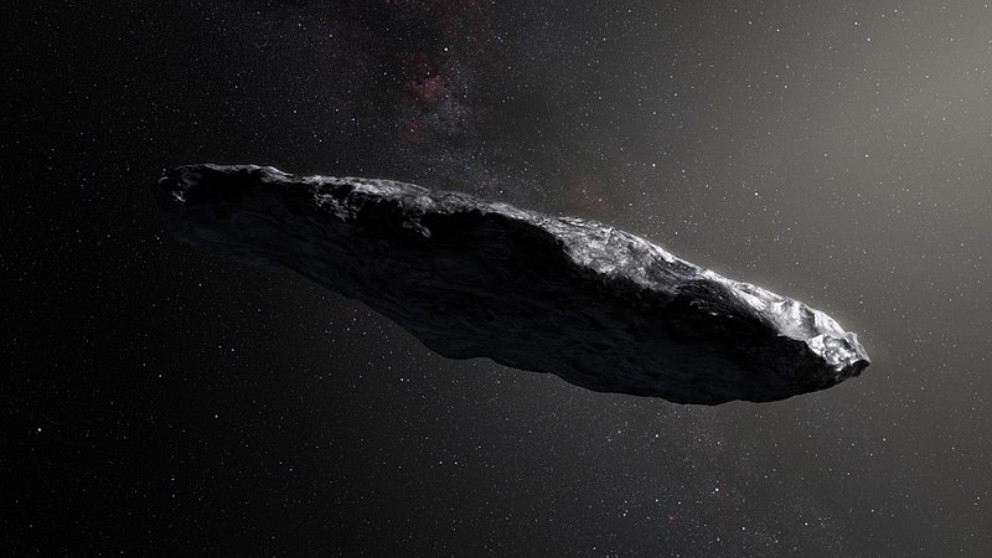 Cómo es Oumuamua, un extraño asteroide que parece una nave extraterrestre