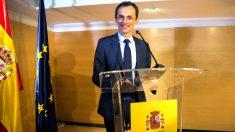Pedro Duque en la rueda de prensa de este jueves (Foto: EFE).