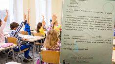 Los centros educativos han pedido a los padres que autorizarles a sus hijos para faltar a clase y participar en las actividades independentistas.