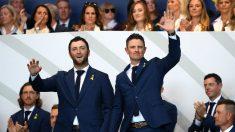 Jon Rahm y Justin Rose abrirán la Ryder Cup. (Getty)