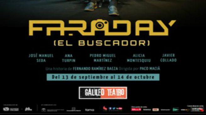 El teatro se apunta al thriller futurista con el estreno de 'Faraday' en el Galileo