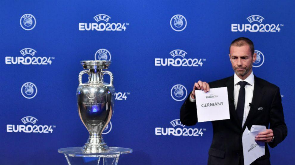 Alemania organizará la Eurocopa de 2024. (AFP)