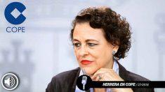 Magdalena Valerio reconoce que «no sé mucho de economía»