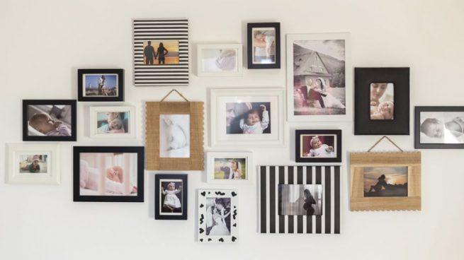 C mo decorar con fotos - Decorar con fotos familiares ...