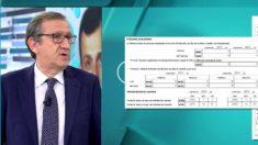 El presidente de Gestha, Carlos Cruzado, en el programa de Ana Rosa | Pedro Duque