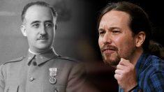 Francisco Franco y Pablo Iglesias.