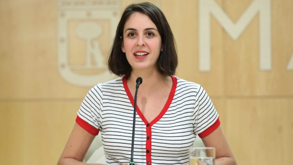 La portavoz muncipal Rita Maestre. (Foto. Madrid)