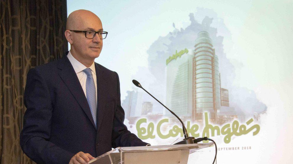 Jesús Nuño de la Rosa, presidente de El Corte Inglés, durante el road show para emisión de bonos