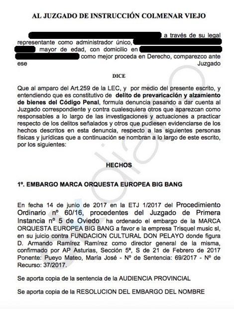 Denuncian al gobierno socialista de El Boalo por alzamiento de bienes en la contratación de orquestas