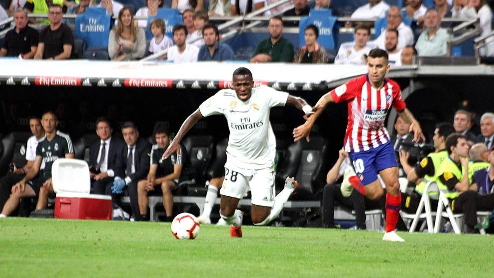Vinicius debuta con el Real Madrid. (Enrique Falcón)