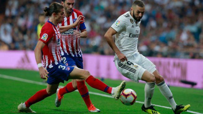 El Atlético de Madrid negociará con Mendes la continuidad de Filipe Luis