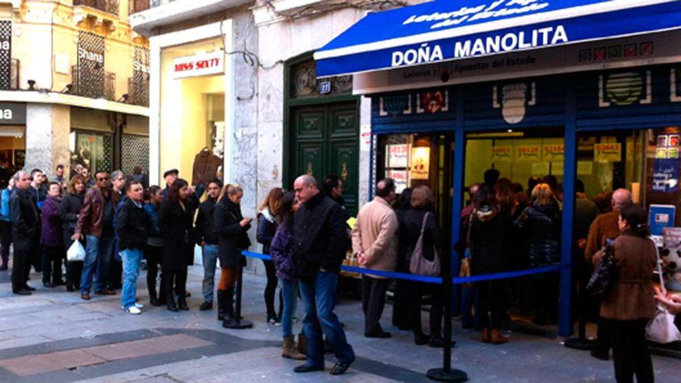 Doña Manolita, una de las administraciones más famosas para comprar Lotería de Navidad