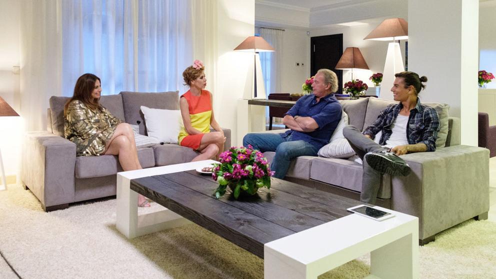Julio, Ágatha y Mariló en 'Mi casa es la vuestra'.