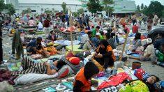 Efectos del tsunami en Palu, Indonesia. (Foto: AFP)