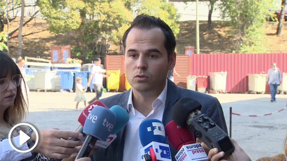 Ignacio Aguado, líder de Ciudadanos en la Comunidad de Madrid.
