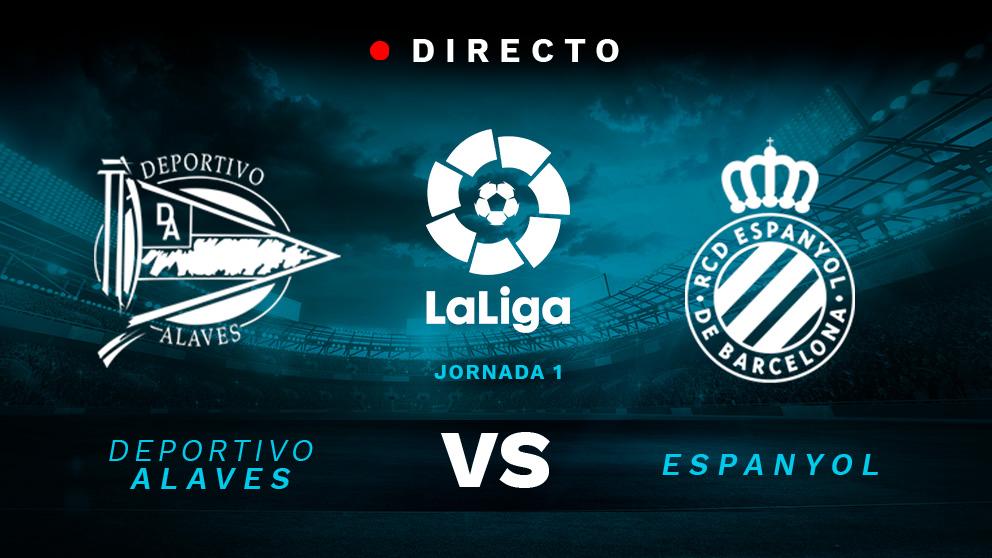 Liga Santander: Alavés – Espanyol | Partido de fútbol hoy en directo