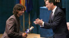 Rafa Nadal recibió el premio Príncipe de Asturias de los Deportes el 3 de septiembre de 2008 | Efemérides del 3 de septiembre de 2018