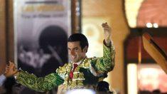 Emilio de Justo sale a hombros este domingo en Las Ventas (Foto: EFE).