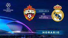 Champions League 2018: CSKA Moscú – Real Madrid | Horario del partido de fútbol de Champions League