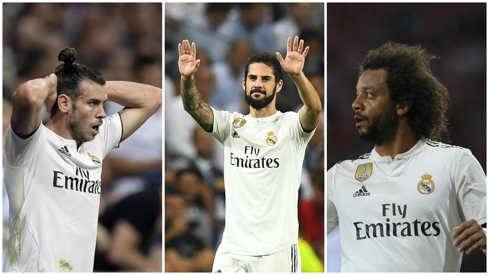 Bale se une a la lista de bajas del Real Madrid. (AFP)