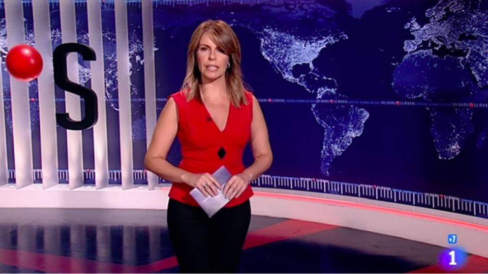 Pilar García Muñiz, presentadora de 'Informe Semanal'